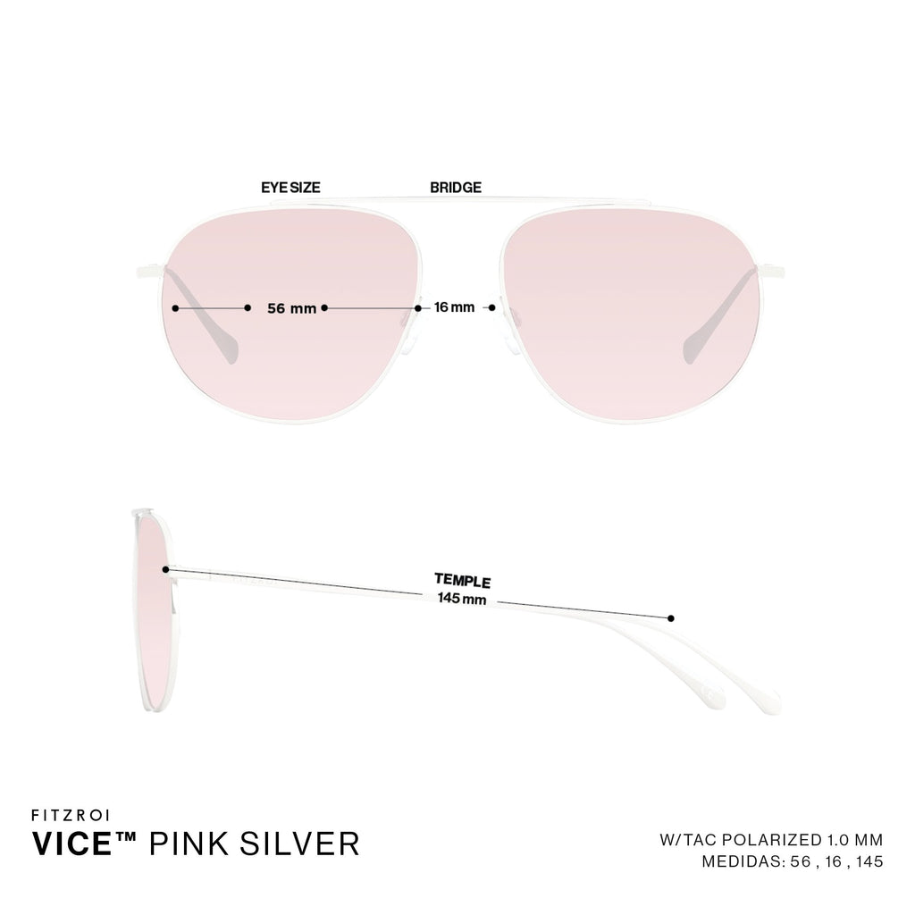 Vice Pink Silver