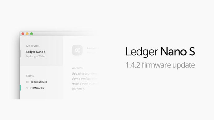Ledger Nano S update 1.4.2