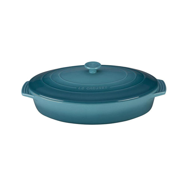 LC Covered Casserole Oval 3.5L Caribbean | Desiree.ca