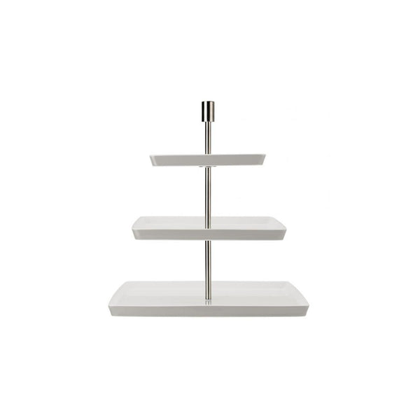 Rosenthal Loft-White 3-Tier Etagere | Desiree.ca