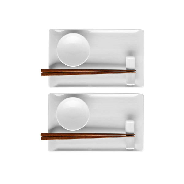 Rosenthal Loft-White Sushi Set | Desiree.ca