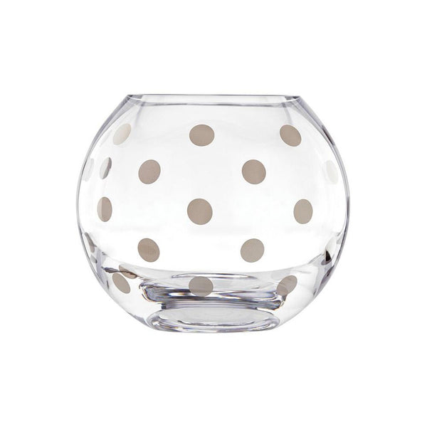 Kate Spade Pearl-Place Rose Bowl Platinum | Desiree.ca