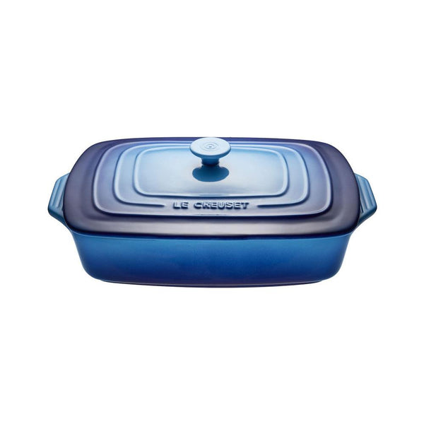 LC Covered Casserole Rectangle 3.3L Blueberry | Desiree.ca