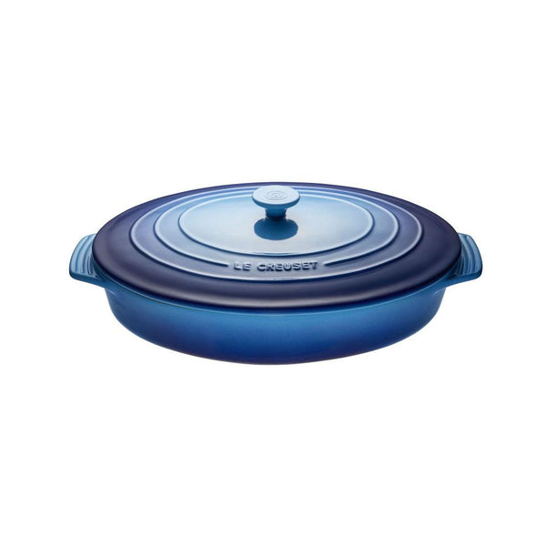LC Covered Casserole Oval 3.5L Blueberry | Desiree.ca