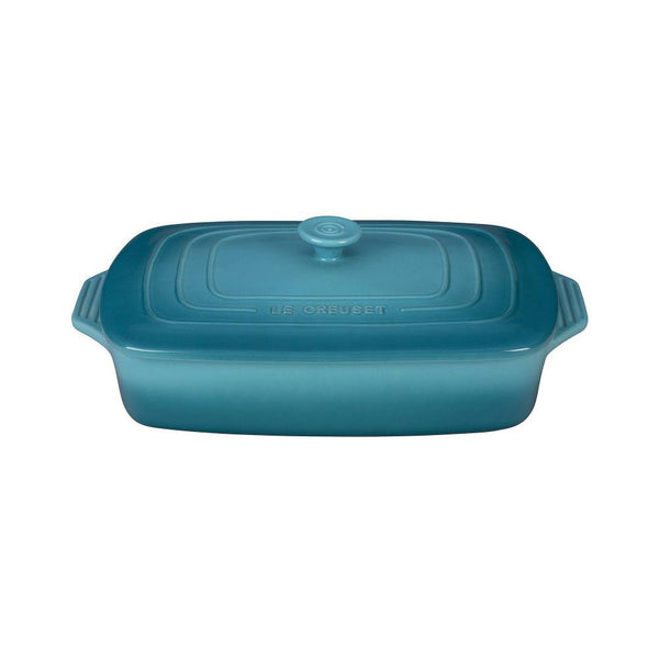 LC Covered Casserole Rectangle 3.3L Caribbean | Desiree.ca