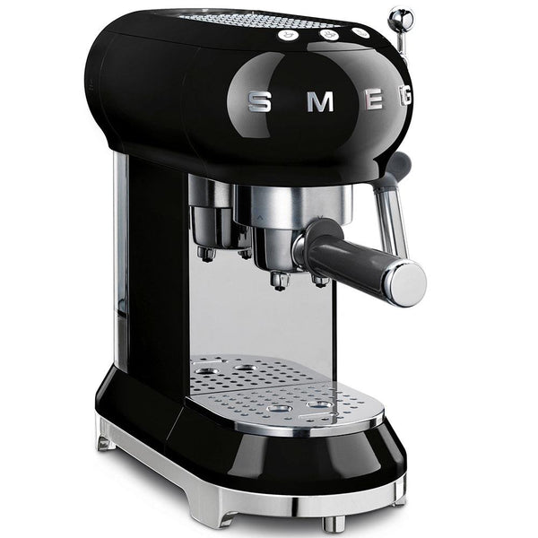 SMEG Espresso Machine Black | Desiree.ca