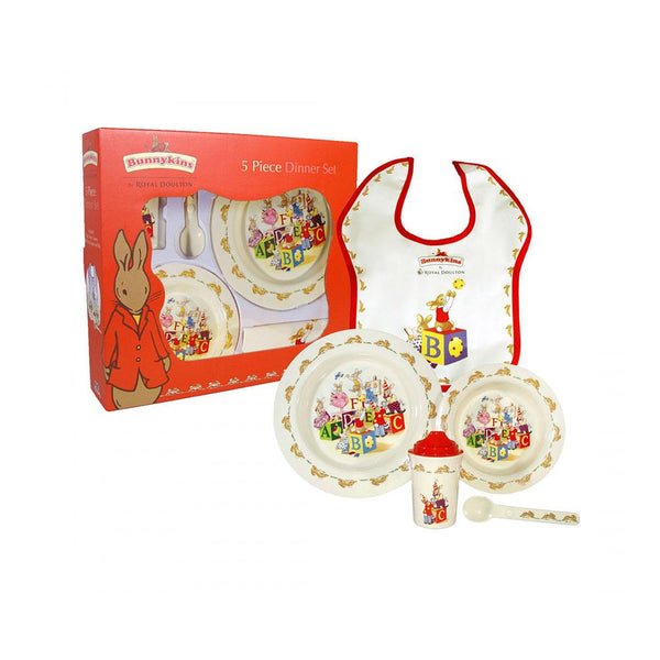RD Bunnykins 5 Piece Set (Melamine) | Desiree.ca