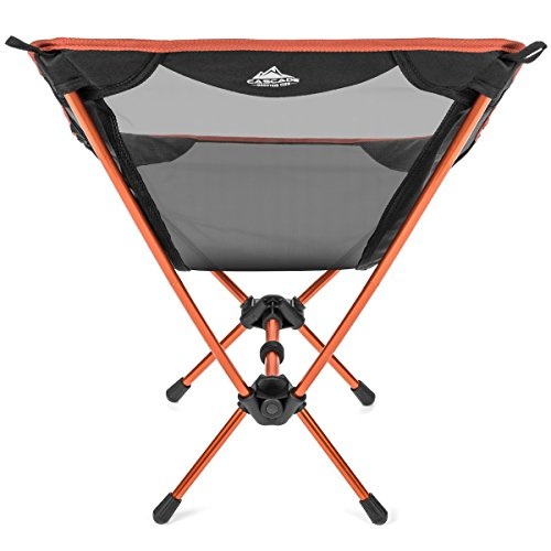 Terrific Cascade Mountain Tech Compact Lightweight Folding Portable Camp Chair For Backpacking Camping Hiking Concerts And Outdoor Festivals With Carry Frankydiablos Diy Chair Ideas Frankydiabloscom