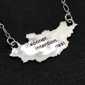 what3words Country/State Pendant