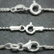 Load image into Gallery viewer, Sterling Silver Ball Chain