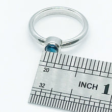 Load image into Gallery viewer, London Blue Topaz Sterling Silver Ring