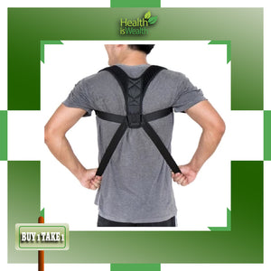 (BUY 1 TAKE 1 + FREE GIFT!) Adjustable Posture Corrector & Back Support Brace