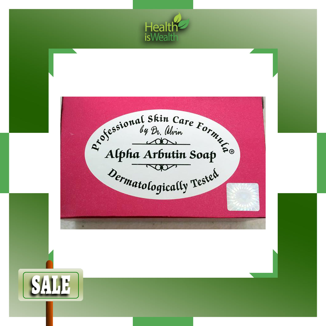 Alpha Arbutin Soap