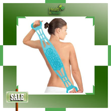 Dual-Sided Back Scrubber & Massager