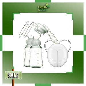 Electric Breast Pumps (white)