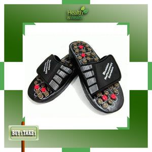 (BUY 1 Pair & TAKE 1 Pair FREE) Foot Reflexology Sandals