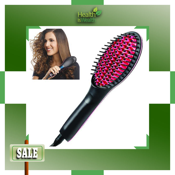 Hairfix™ Ceramic Straightening Brush