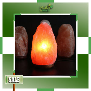 Himalayan Salt Lamp (Natural Shape)