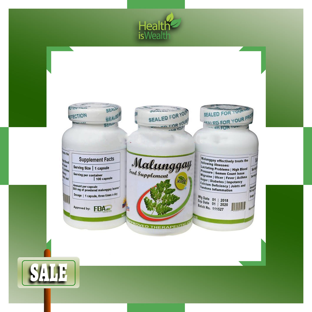 Malunggay Food Supplement