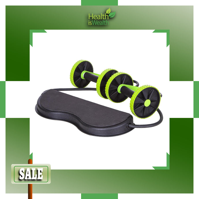 Power Roll Ab Trainer Resistance Fitness Machine (PROMO SALE!!!)