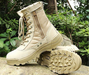 2017 new us Military leather boots for men Combat bot