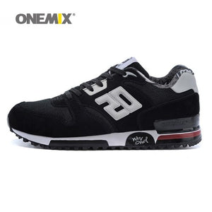 ONEMIX 2017 Factory sales suede retro slow running sport original sneakers breathable women athletic shoes
