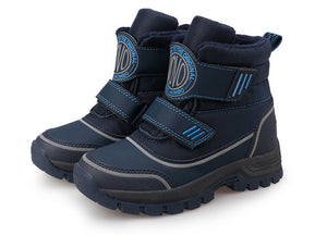 Boots Hook-and-Loop Closure Sporty Kids Shoes Warm and Comfortable Boys Boots