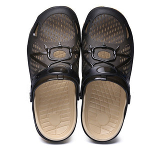 UEXIA Outdoor Casual Walking Beach Flip Flops Casual Men Shoes Summer