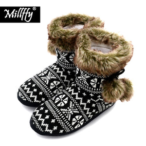 Millffy nordic boots women ultra boots faux Fur Boot