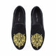 Men Suede Leather Loafers Fashion Party and Wedding Black Dress Shoes