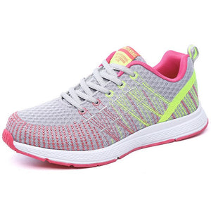 Breathable Comfortable Lightweight Athletic Mesh Shoes for girls