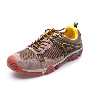 Men Outdoor Anti-Collision Summer Running Shoes Breathable Mesh Jogging Sneakers Athletic Shoes Men