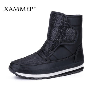 Women's Winter Shoes Plus Big Size Brand Women Shoes Plush And Wool