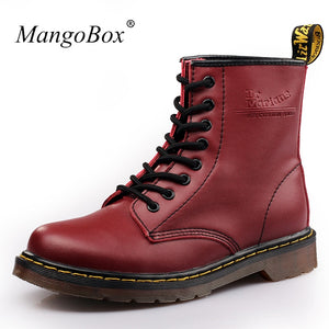 Luxury Mens High Leather Boots New Cool Spring Footwear For Men