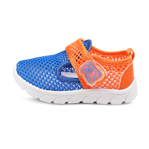Children Toe Covering Sandals for Boys Air mesh shoes Soft Bottom Mesh Sports Beach Shoes