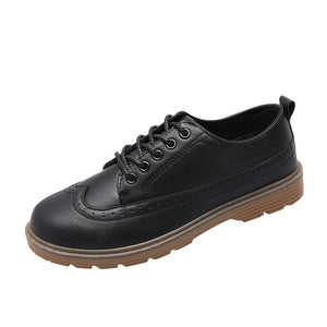 Men's Classic Leather Brogue Shoes Fashion Men Shoes