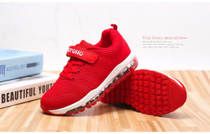TIANYUQI Children Sport Shoes Summer Breathable Girls Running Shoes Knitted Toddler Kids Sneakers
