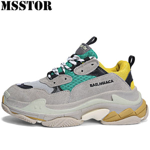MSSTOR Retro Women Men Running Shoes Woman Brand Summer Breathable Sport Shoes