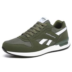 men & women retro running shoes light cool sneakers green breathable athletic shoes