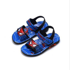 Kids Beach Shoes Cartoon Boys Shoes Spiderman Baby Sandals Toddler Kids Sandals