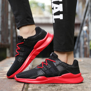 Sollomensi Hot Sale Running Shoes For Men Lace-up Athletic