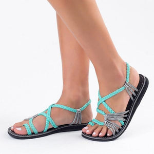 Large Size Women Shoes Fashion Summer Beach New Arrival Casual Sandals