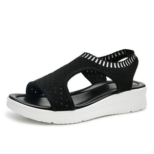 New fashion women sandals summer new platform sandal shoes breathable comfort shopping ladies walking shoes