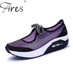 Fires Women's Sneakers 41 Breathable Brand Running Shoes For Woman