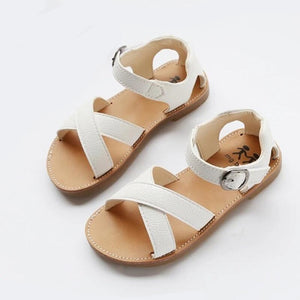 PU Leather Girls Shoes kids Summer Baby Girls Sandals Shoes Skidproof Toddlers Infant