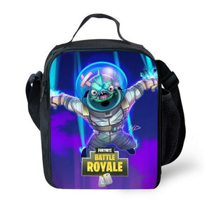 Fortnite Season 4 item shop Red knight Lunch Bag Print Kids Student Office
