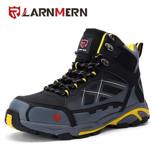 LARNMERN Mens SRC Non-slip Spring Ankle Boots