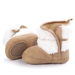 Baby Girl Bowknot Keep Warm Soft Sole Snow Boots