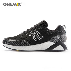 Onemix Fashion All-match Running Shoes Unisex Outdoor Exercise Breathable Soft Sneaker