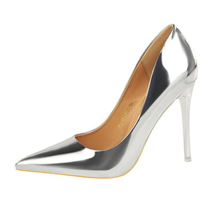 2018 Summer autumn Women Shoes Pointed Toe Pumps Dress Shoes High Heels